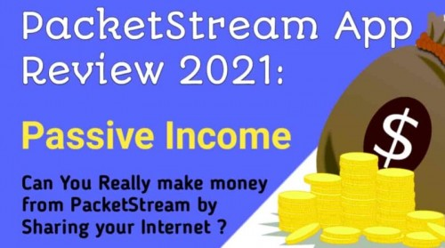 Digital Marketing Solution PacketStream Review ~ Passive Income Apps